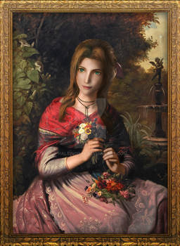Aerith, the Girl with Flowers