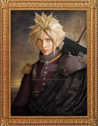 Sir Cloud Strife with Sword of Buster