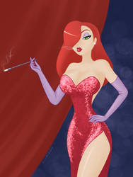 Jessica Rabbit by Silvadorkable