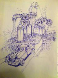 dreamscape city