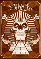 Enhancer Egyptian Poster ver 2 by metallussmetalized
