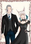 Urianger and Y'shtola