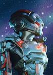 Mass Effect Andromeda by SwanaYasuna