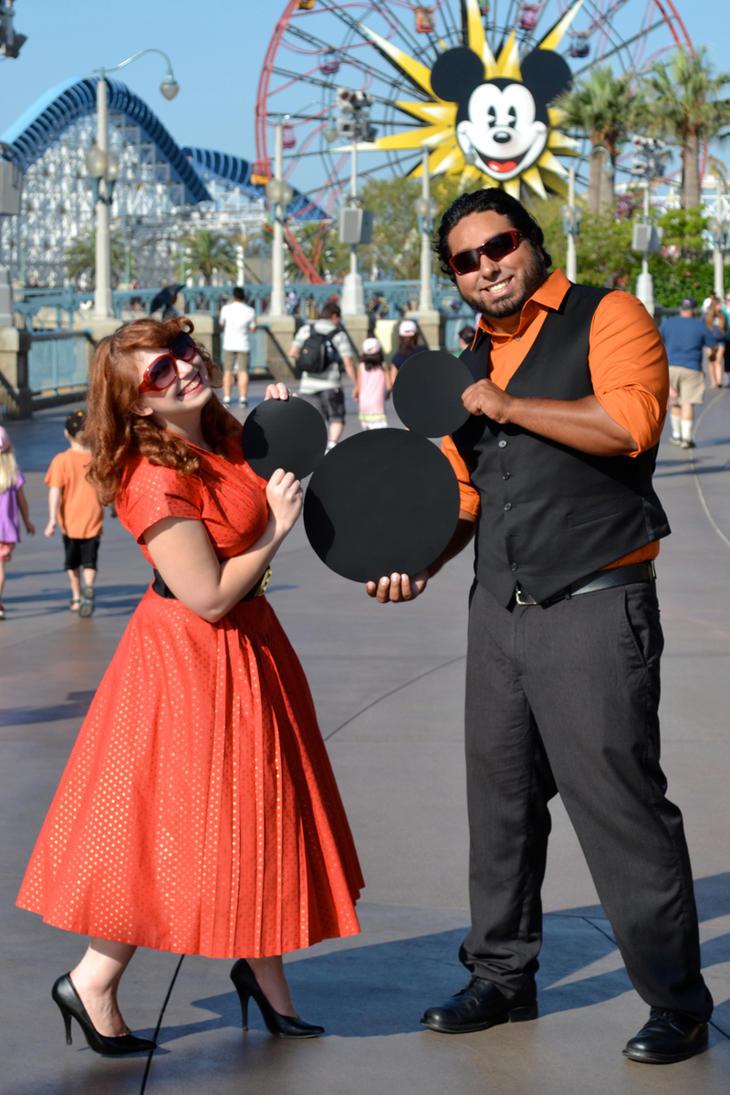 Mickey's Fun Wheel by LadydragonQueen