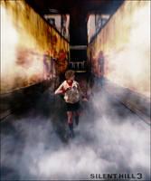 Run ! - Heather mason Silent Hill 3 cosplay by AlicexLiddell
