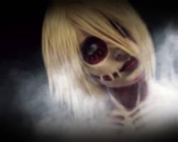 Female Titan - Shingeki no kyojin cosplay by AlicexLiddell