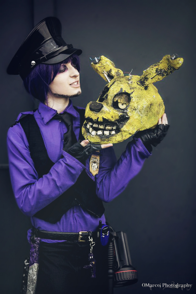 We are the same - Purple guy FNAF cosplay by AlicexLiddell