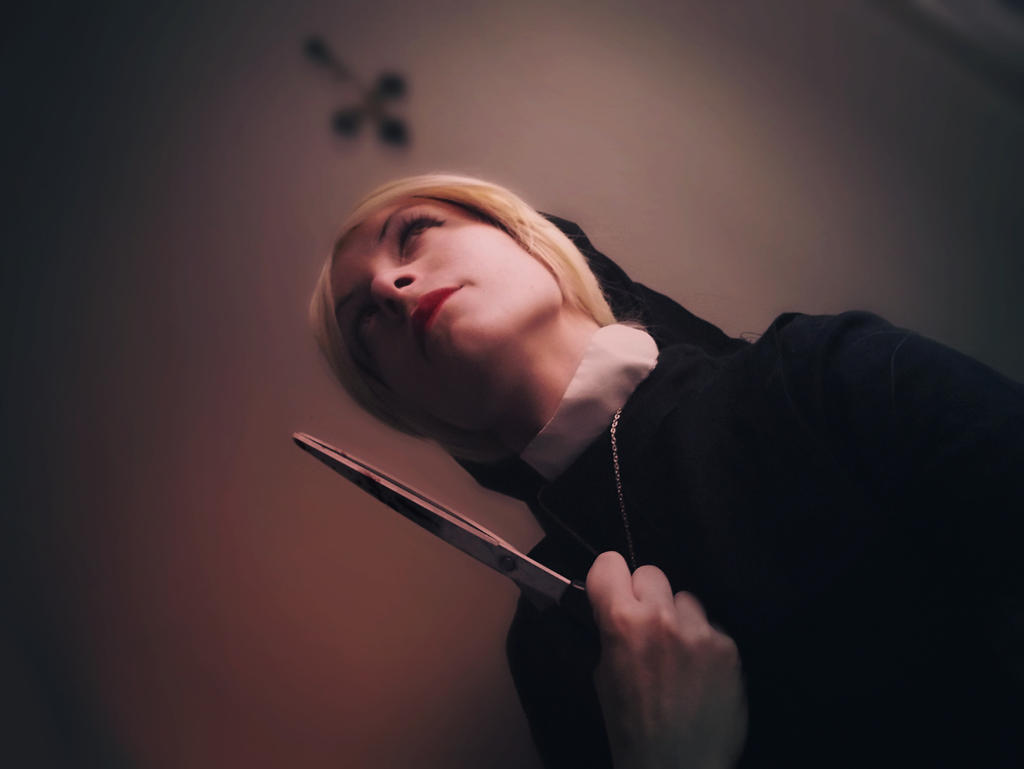 Devil - Sister Mary Eunice, AHS asylum cosplay by