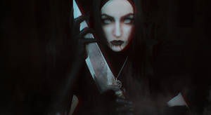 Harvest ( Death ) dress - Alice: asylum cosplay