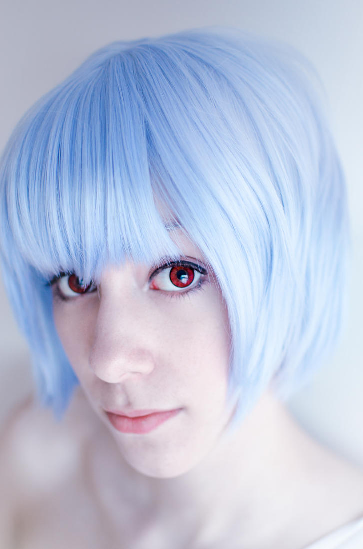 Ayanami Rei - Vessel for a soul by Shiroiaisu