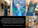 Elsa Cosplay Update