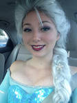 Final Elsa Makeup