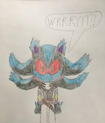 Sonic Brotherhood - Mephiles (Past) by Tie-Rex1000000