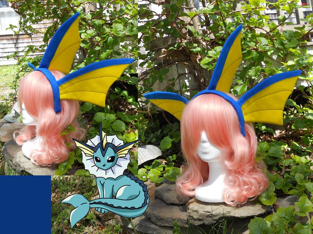 Vaporeon Cosplay Ears Vaporeon Ears by Hop-i...