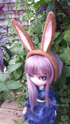 Russet Color Doll Bunny Ears