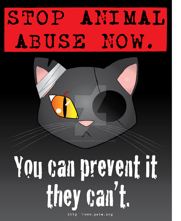 animal abuse posters ideas - photo #24