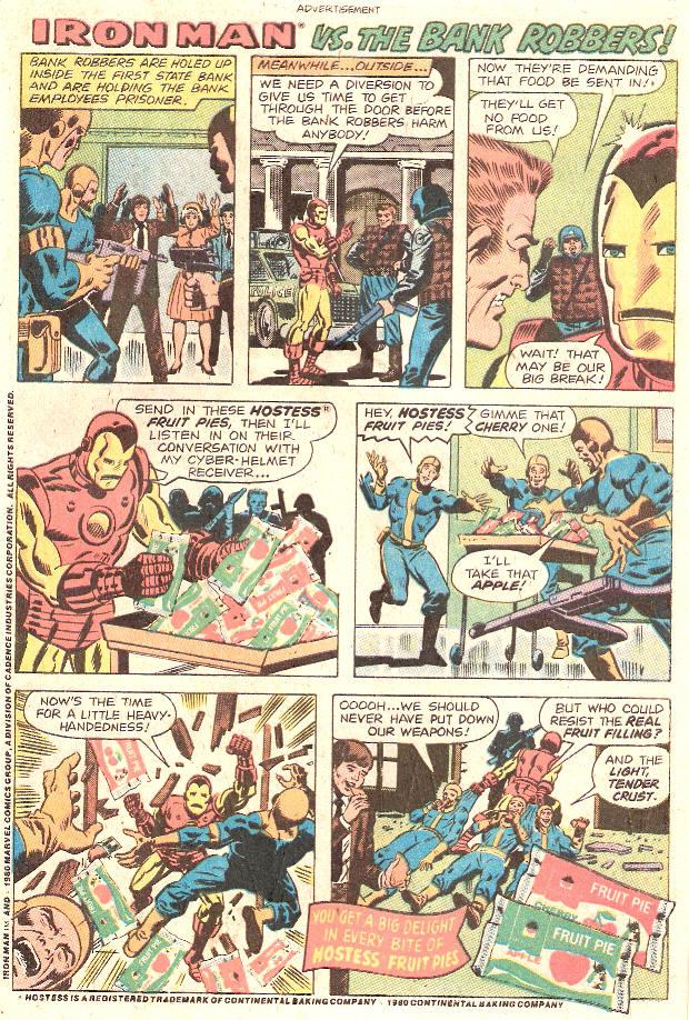 COMICAD hostess iron man vs bank robbers by Superfreak330