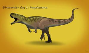 Dinovember day 1: Megalosaurus