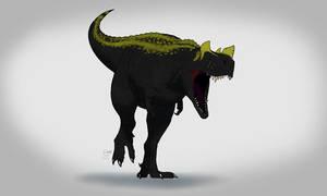 Ceratosaurus color test.