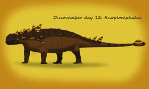 Dinovember day 12: Euoplocephalus