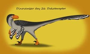 Dinovember day 26: Dakotaraptor
