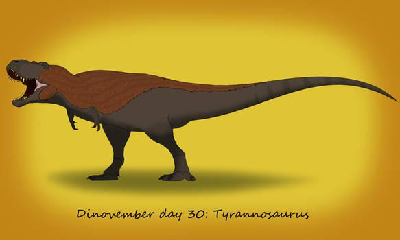 Dinovember day 30: Tyrannosaurus