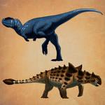 Rugops and Euplocephalus