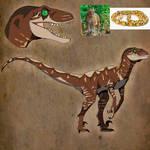 JP Velociraptor Skin Idea - Golden Python