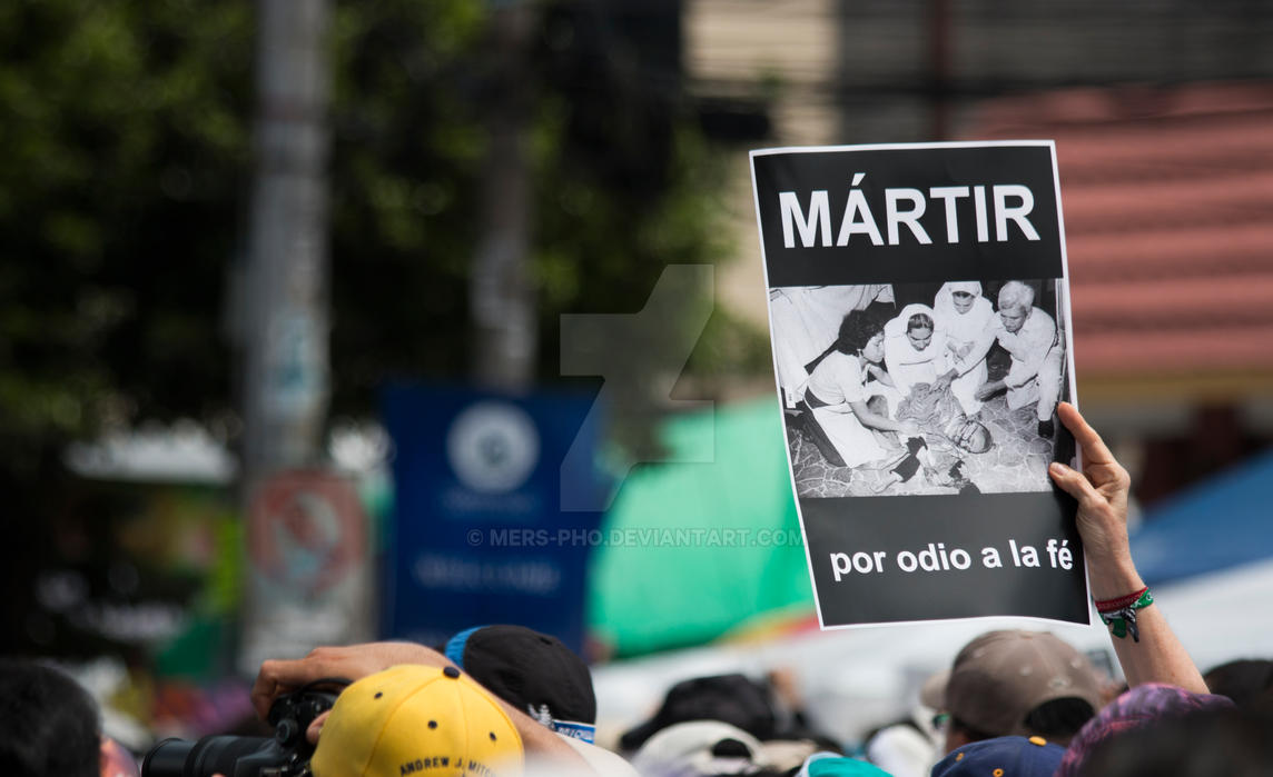 Beato Martir Romero by mers-pho