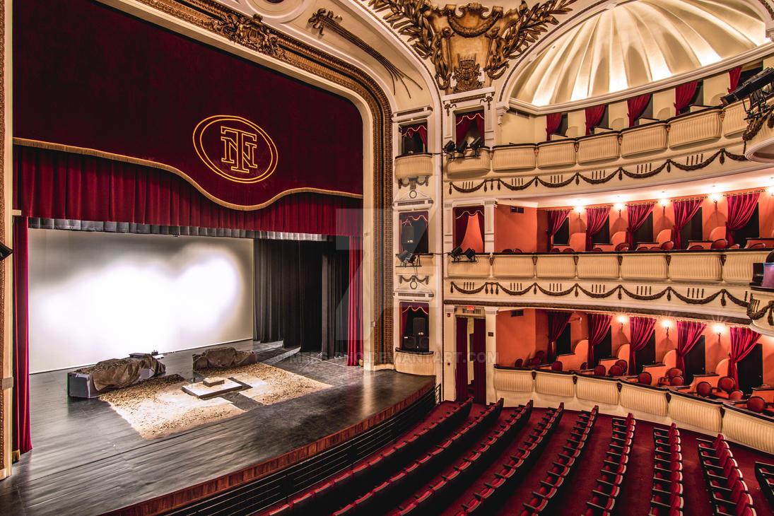 Teatro Nacional de El Salvador by mers-pho