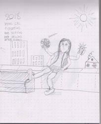 11 years old girl by Avgardiste