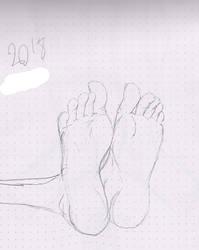 Pair of feet by Avgardiste