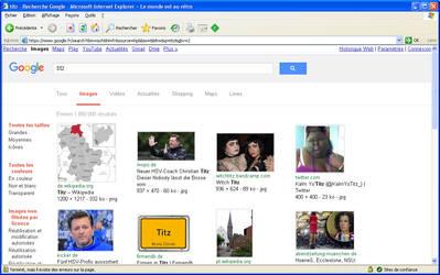 Recherche Google Internet Explorer 6.0 by Avgardiste
