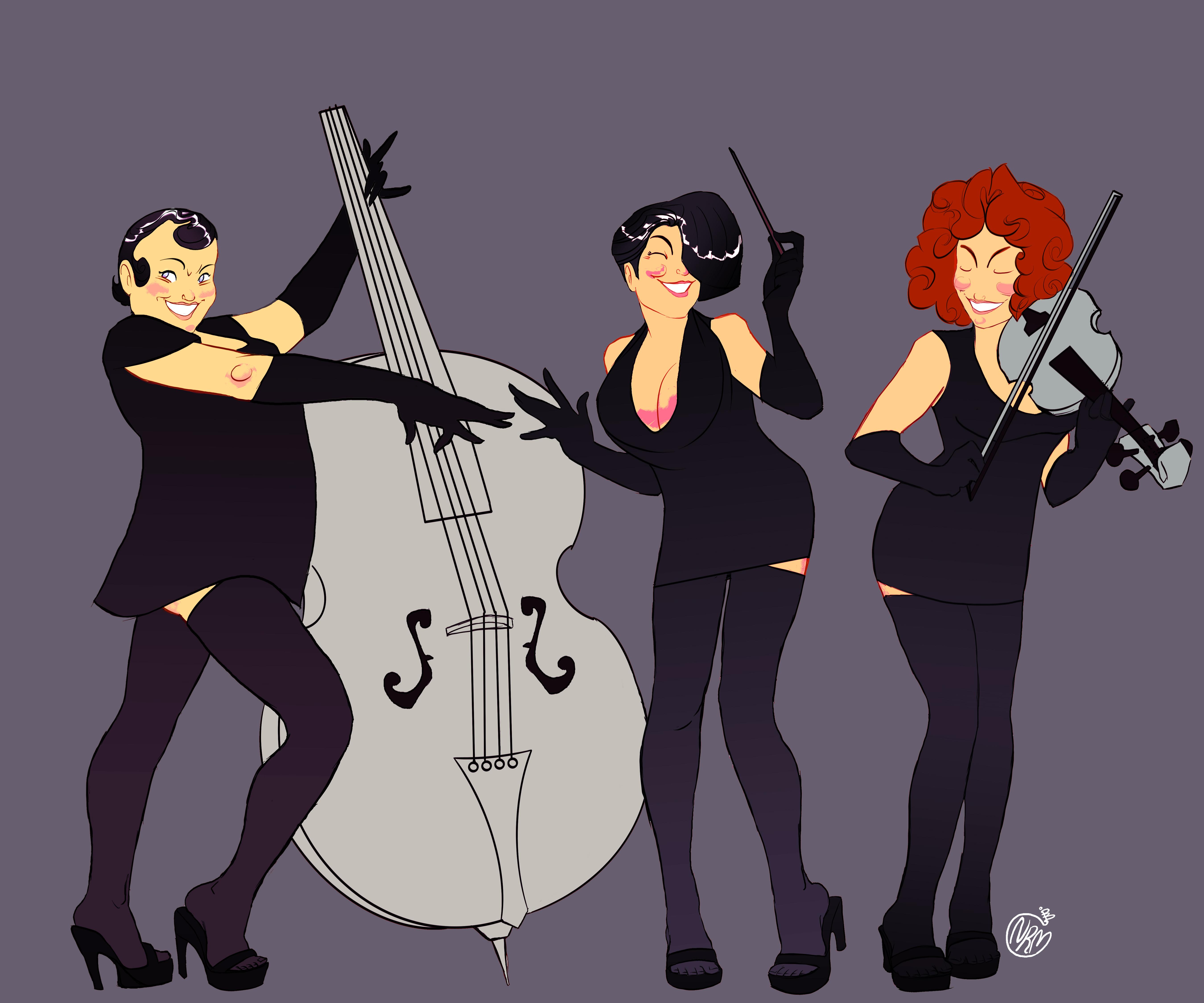 Swing Trio by Koui