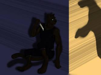 Feline Assassin by Marupa