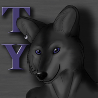 Ty the Coyote by Marupa