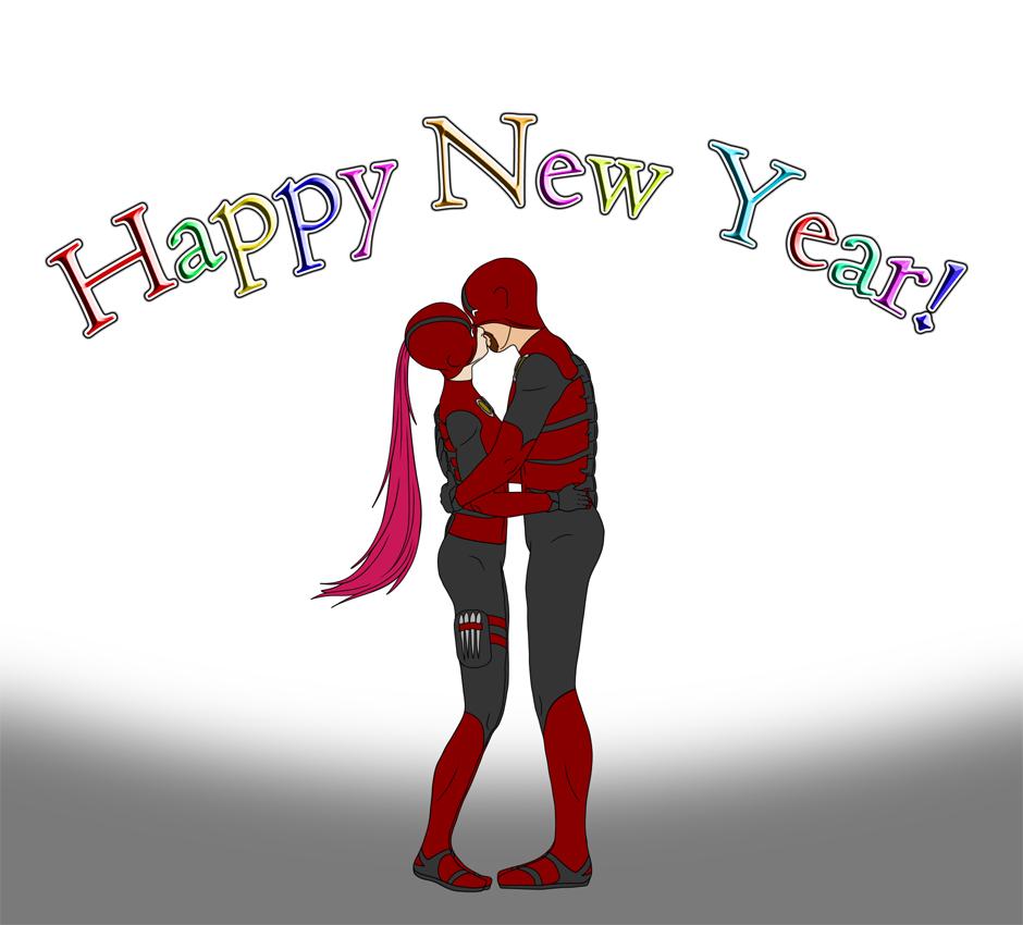 Happy New Year! by MidZM