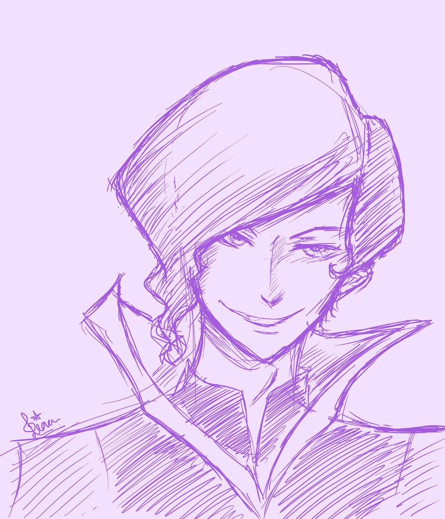 LoK sketches: Tahno by Evurinn