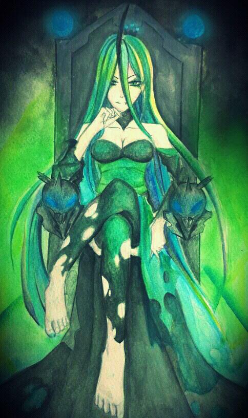 MLP gijinka: Queen chrysalis by Evurinn