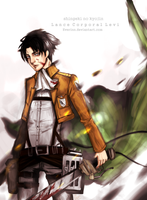 LANCE CORPORAL LEVI by Evurinn