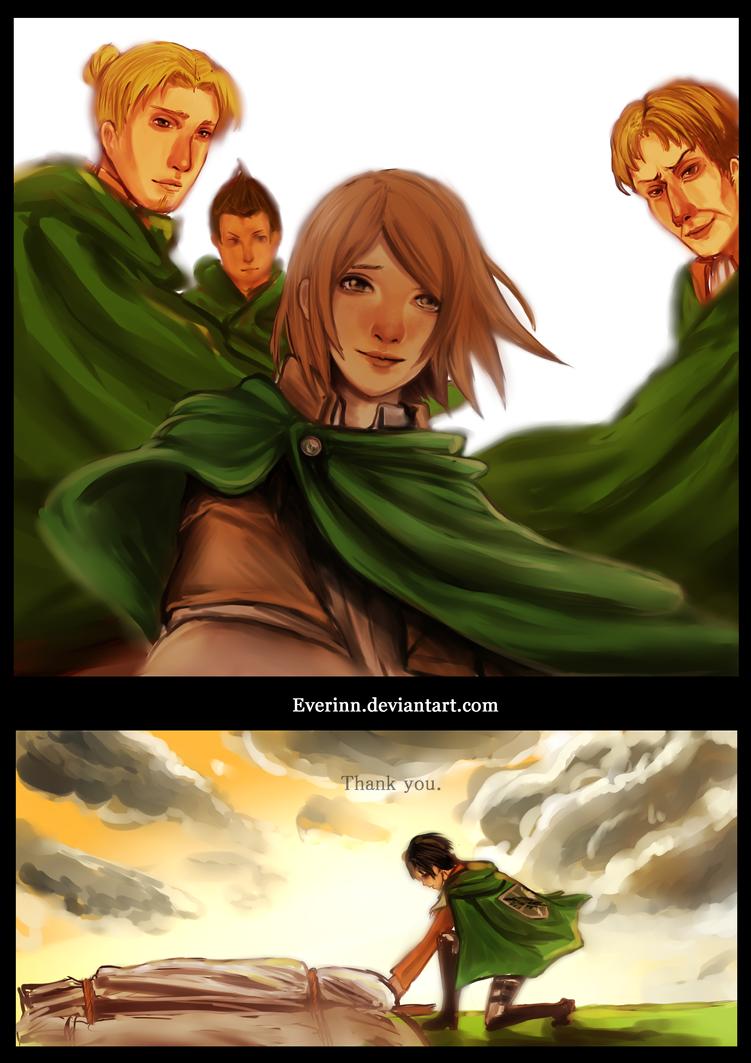 Levi's squad by Evurinn
