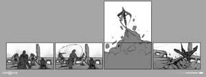 Escape from Helheim 4 - God of War by JoeMKennedy