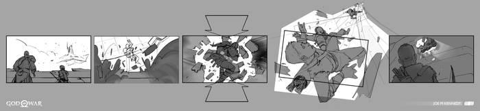 Escape from Helheim 5 - God of War by JoeMKennedy