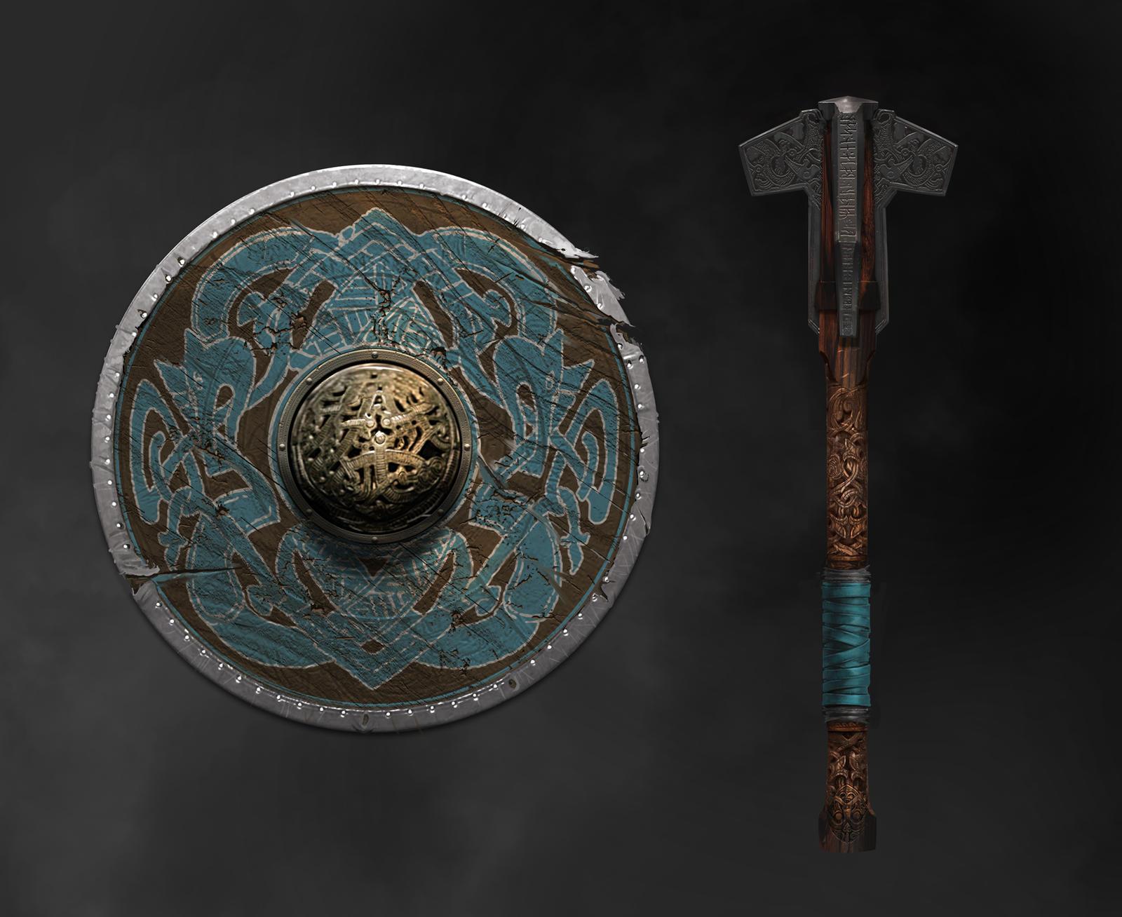 God of War - Modi's Weapon by JoeMKennedy