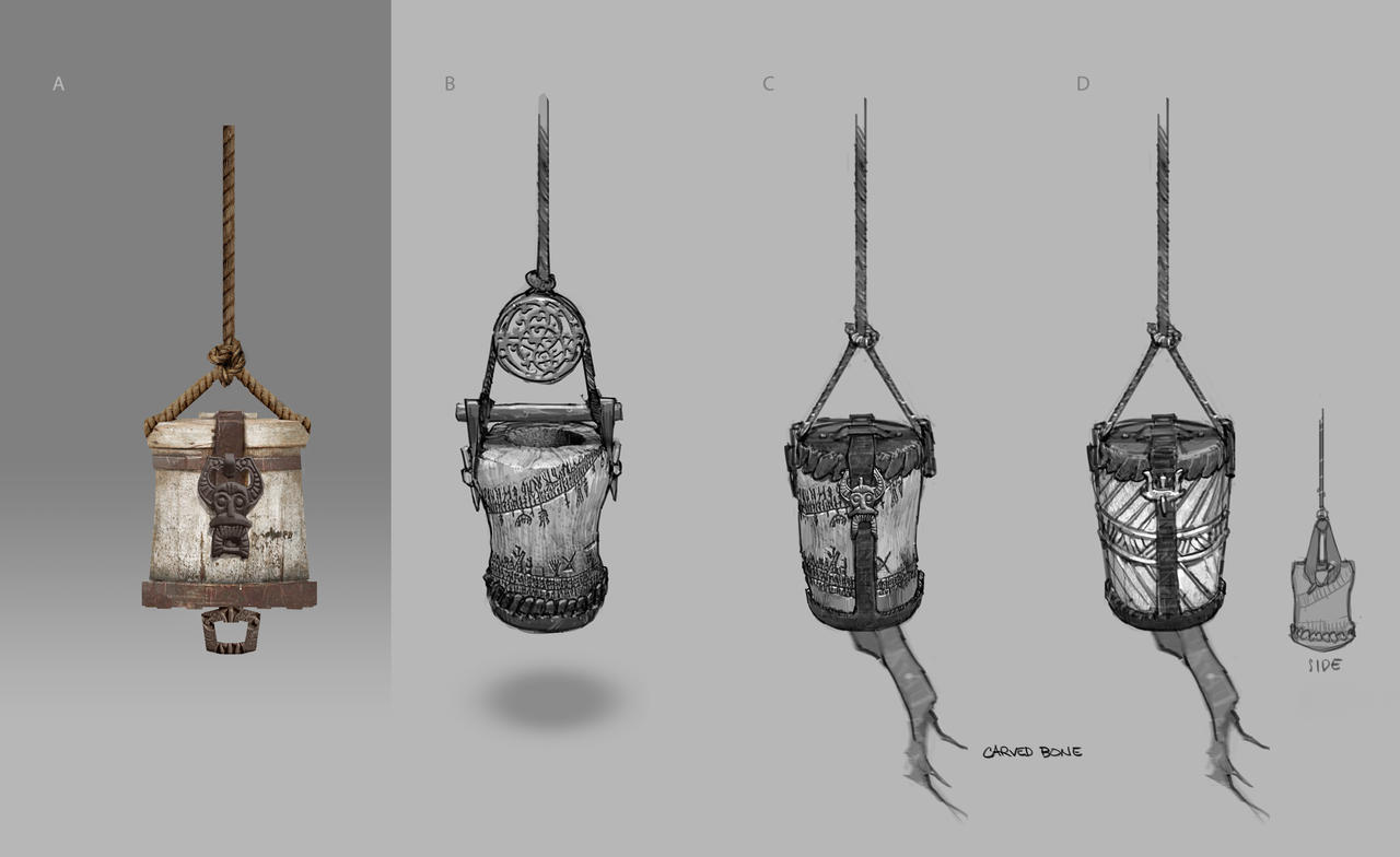 God of War - Hanging Loot 1 by JoeMKennedy