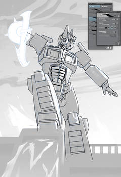 Optimus Prime Work in Progress