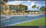 Shaboo Laguna -Poolside Area 3 by VirtualArtsCA