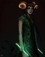 The Handmaid by solisen