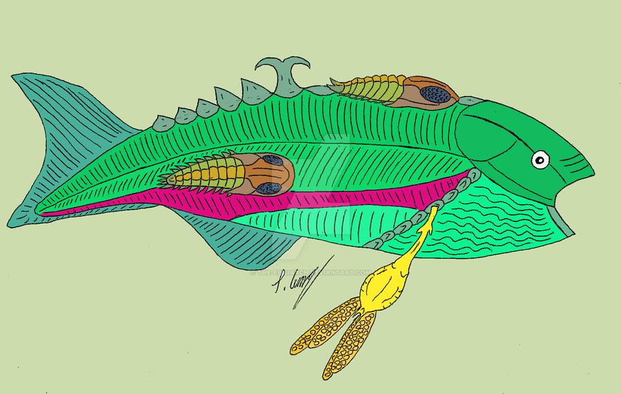 Parasitism Examples Drawing