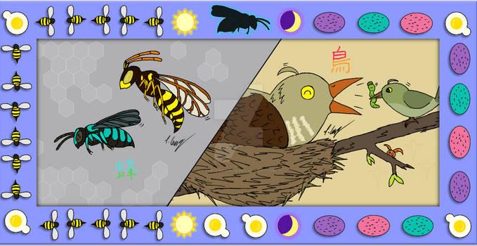 Impostor Story: Cuckoo Bees and Cuckoo Birds